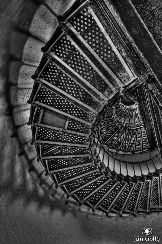 Lighthouse Interior by Jim Crotty