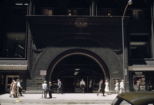 The Chicago Stock Exchange Building in 1962