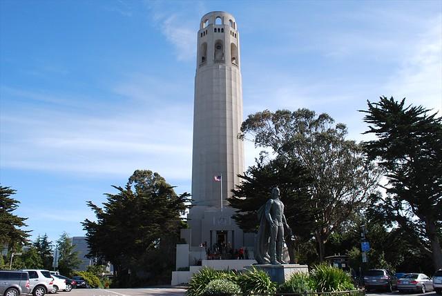 Coit Tower art deco