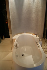 floor, room, jacuzzi, bathtub, plumbing fixture, bathroom,