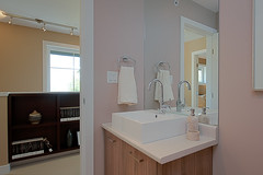 floor, room, property, bathroom cabinet, interior design, plumbing fixture, cabinetry, bathroom,