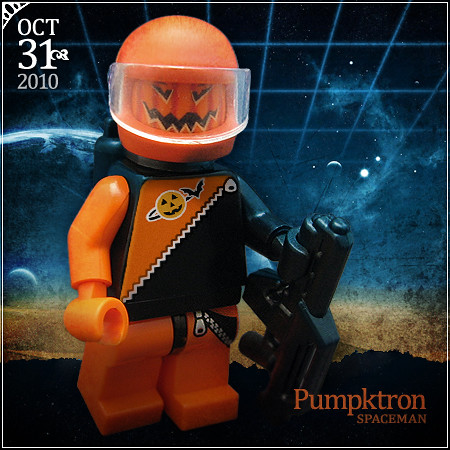 October 31 - Pumpktron Spaceman