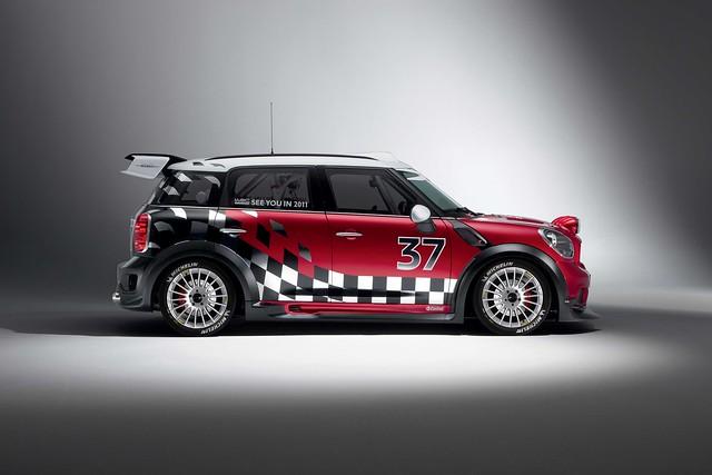 MINI WRC side