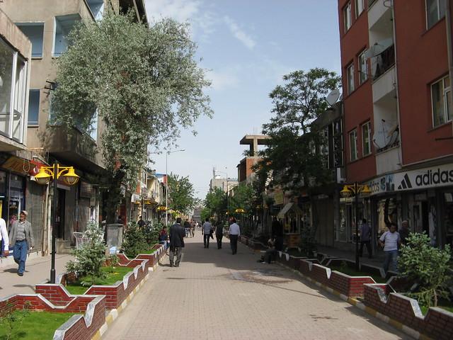 Rua de Doğubeyazıt, Turquia