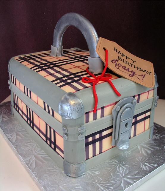 Burberry Birthday Cake | Flickr - Photo Sharing!