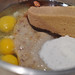 Pour ingredients into Bowl ~ Banan Bread Recipe