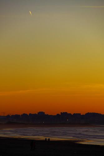 sunset sea sol de mar twilight puesta santander cantábrico somo cantabric