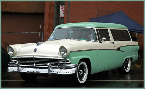 1956 ford fairlane station wagon images for 1956 ford 2 door station wagon