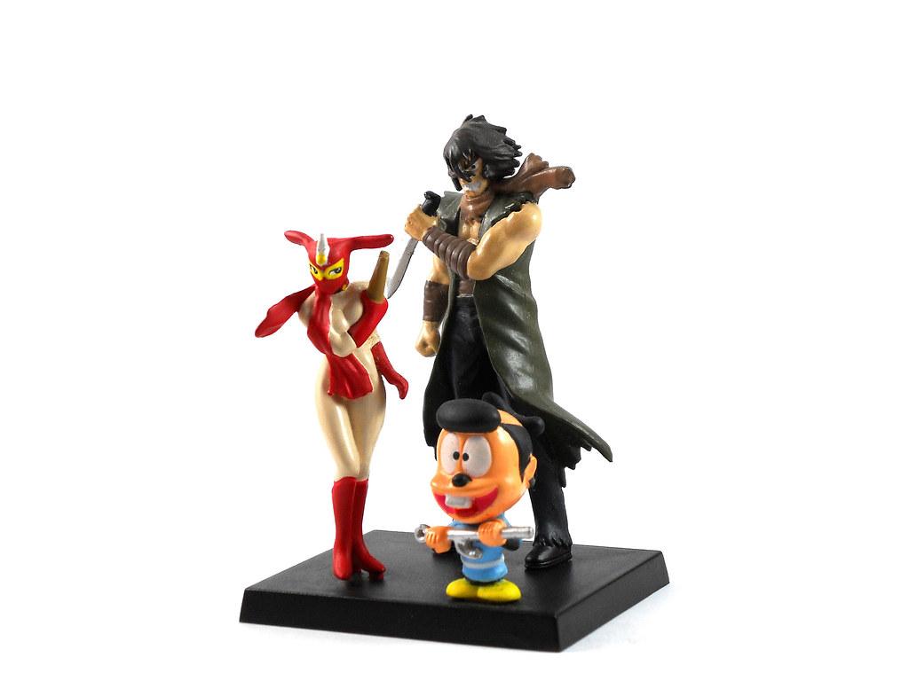 kekkoukamen Violence Jack and Kekko Kamen toy figures