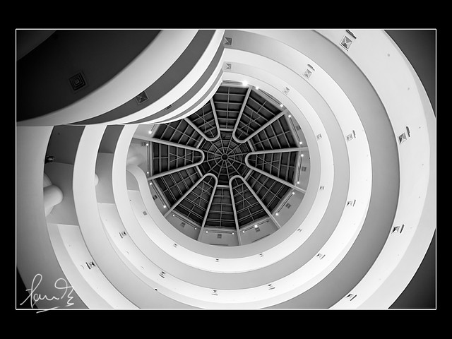 Solomon R. Guggenheim Museum Interior, New York