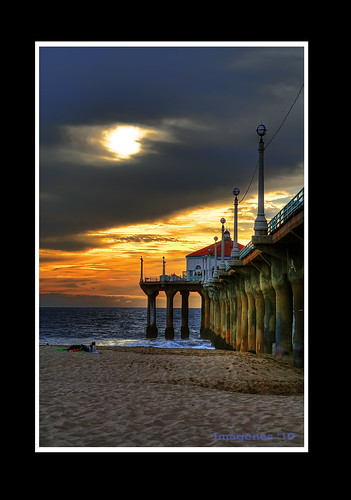 ocean california sunset sky beach colors losangeles manhattanbeach drama manhattanbeachpier canon2470mm abigfave elitegalleryaoi tplringexcellence