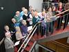On the stairs, Institut für Fremdsprachen und Auslandskunde