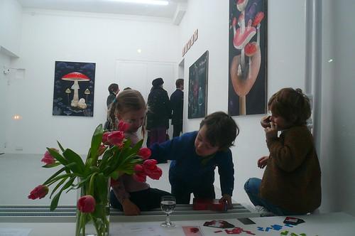 Ausstellung Florian Haas bei Galerie Strelow. Januar 2008