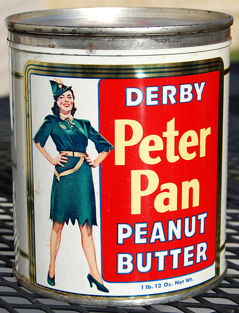 Derby Peter Pan Peanut Butter, 1950's | Flickr - Photo ...