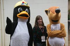 flightless bird(0.0), stuffed toy(0.0), toy(0.0), penguin(1.0), bird(1.0), mascot(1.0),