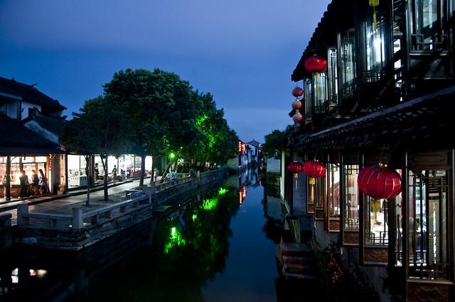 Canals of Zhouzhuang