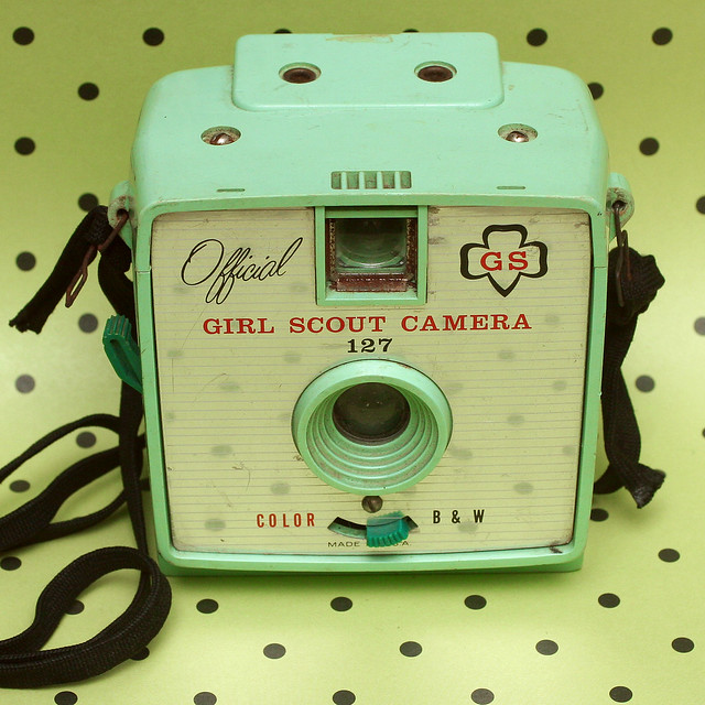 127 Girl Scout camera