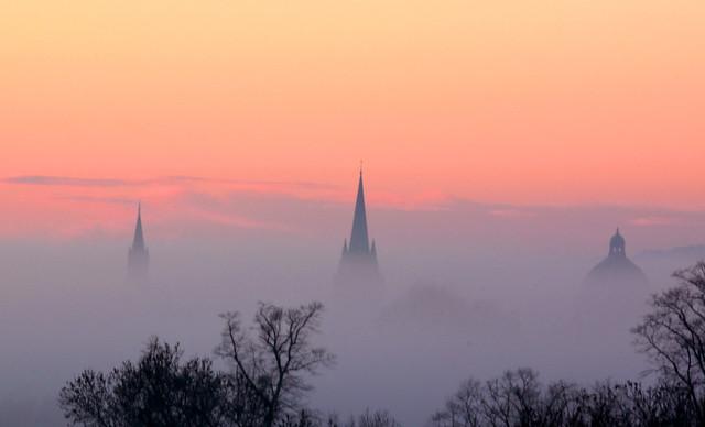 Oxford Spires - November
