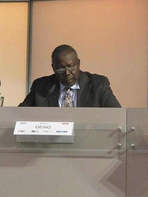Minister für Erdölwesen Deng