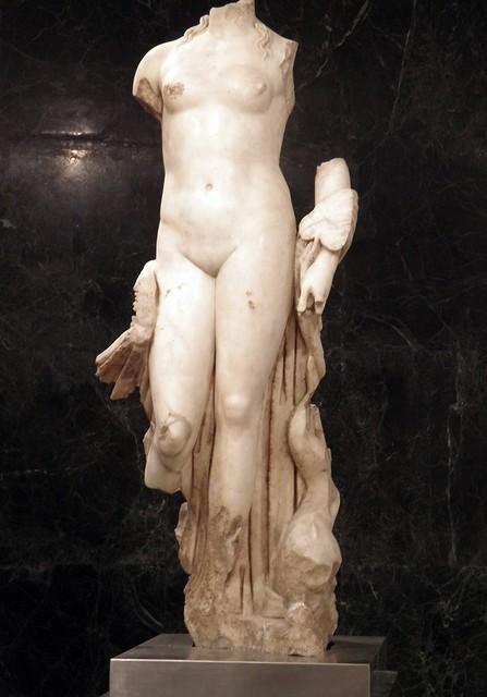 Statue of Venus Anadyomene, Museum of Archeology, Seville