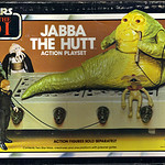 "KENNER :: Star Wars - Return of the Jedi  ""JABBA THE HUTT"" ACTION PLAYSET iv (( 1983 ))"