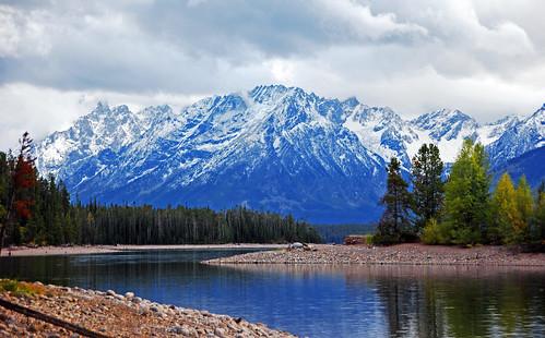 Teton range + Jackson Lake = Paradise