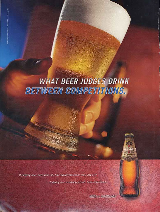 Michelob-judging