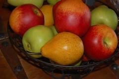 pear, produce, fruit, food, still life photography, still life, apple,