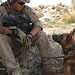 A Marine and mans best friend