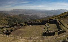 Ruinas Incas en cerro Huanacaure