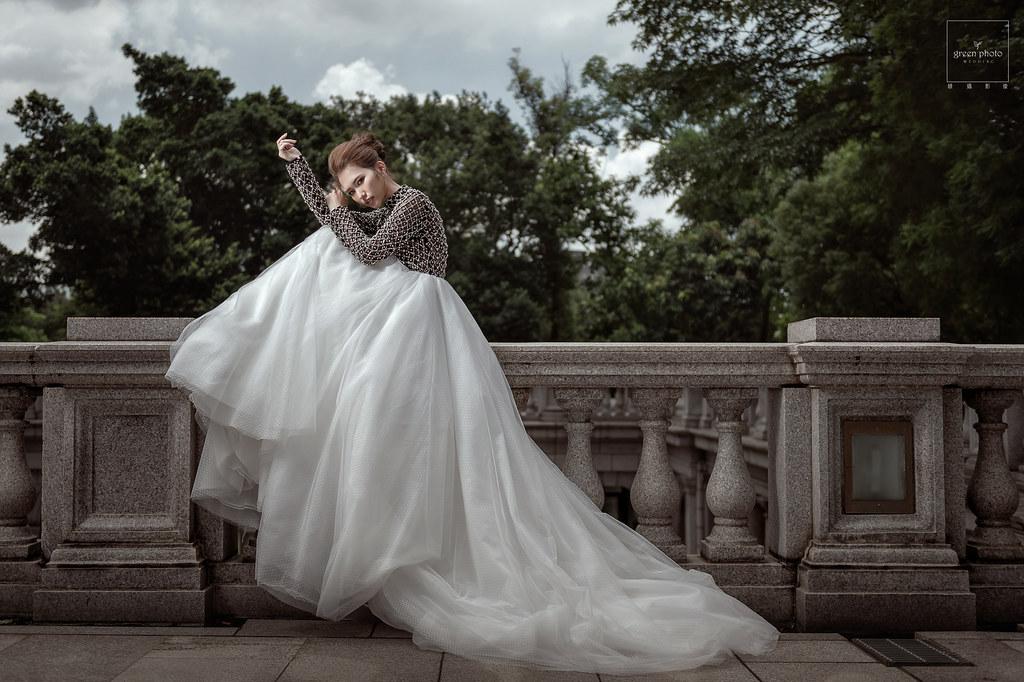 [自主婚紗] 一個人拍婚紗照@大同大學&中正紀念堂