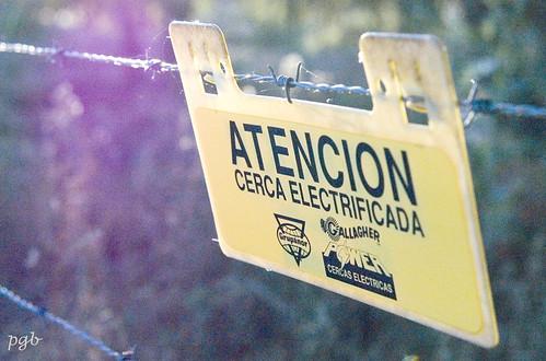 ...¡cuidado!, no tocar.... by Garbándaras