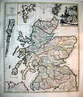 1721 Map of Scotland
