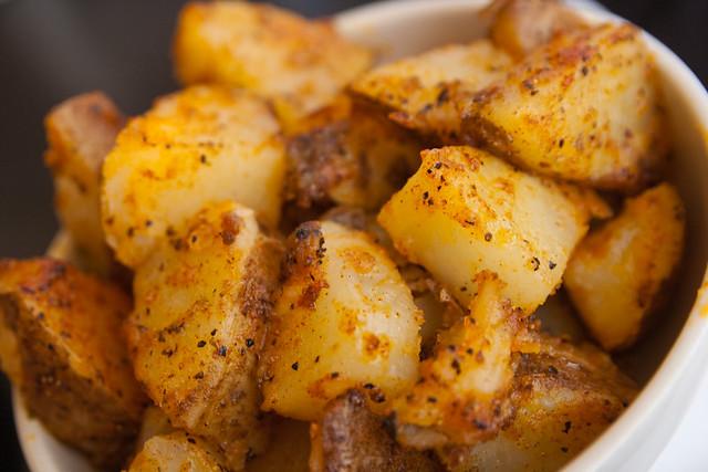 Seasoned Potatoes Marie Catrib Food Macro July 27, 20103