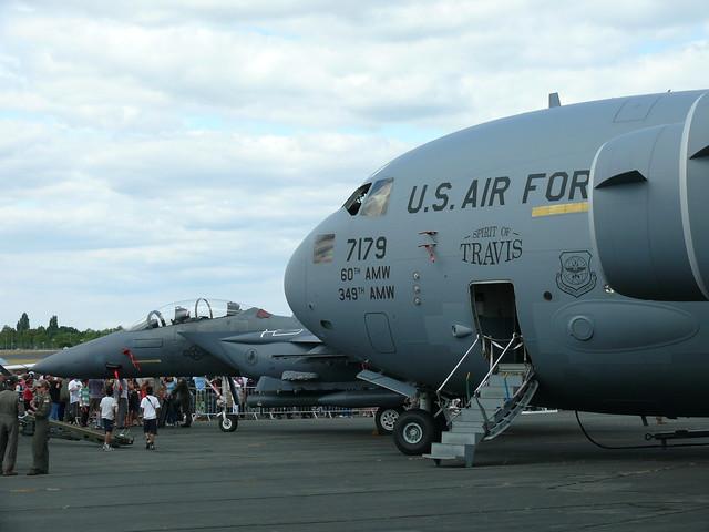 C-17 und F-15