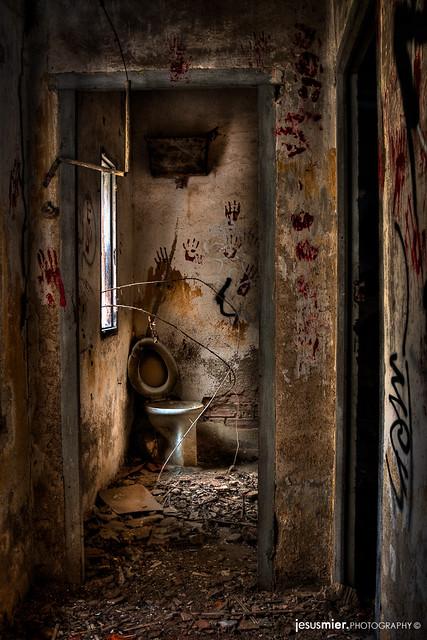 La ventana del cuarto de baño