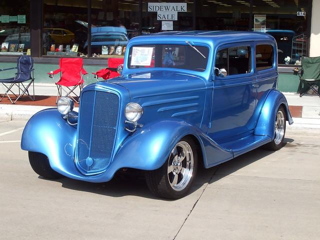 1934 2 door chevrolet sedan hub city days car show for 1934 chevrolet 2 door sedan