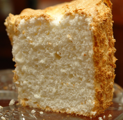Classic Angel Food Cake Slice