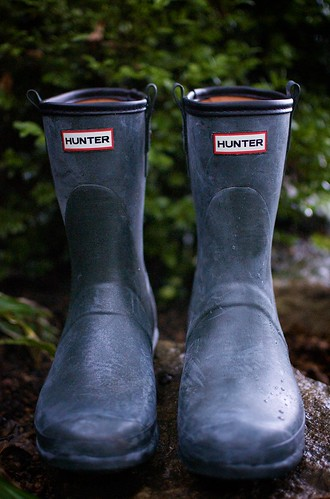 Hunter Boots.  13/365