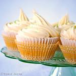 Gluten free creamy Lemon cupcakes