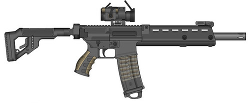 S8-A Huntsman Civilian Assault Rifle