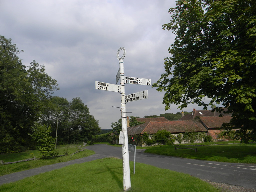 Old sign Knockholt Circular