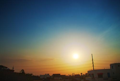 morning sky sunrise nikon sudan d100 qusai