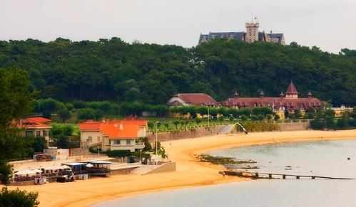 Amanecer en la Bahia de Santander.Cantabria