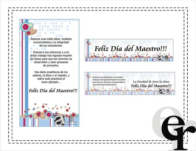 Tarjetas D A Del Maestro