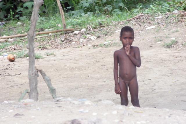 Naked Haitian Boys On Beach