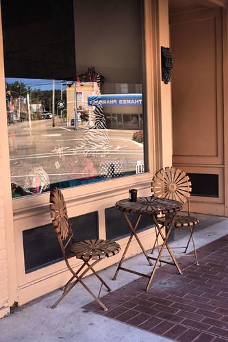 reflection window table chairs alabama wetumpka