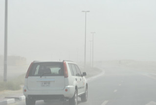 Sandstorms are common