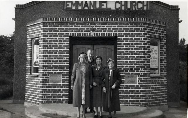 Outside Emmanuel Church