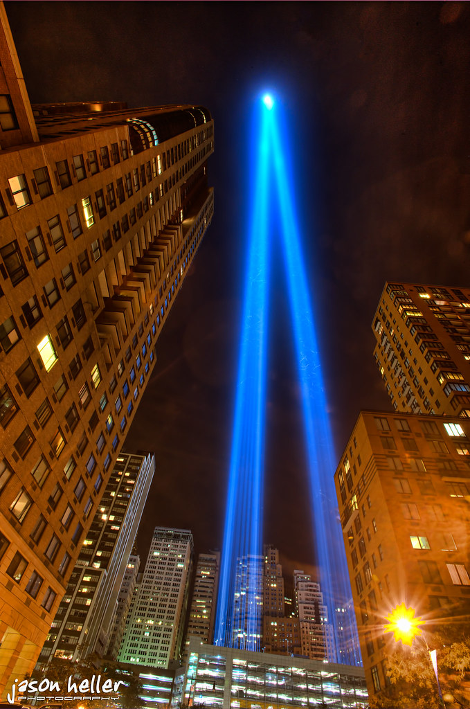 Sept 11th Lights - NYC